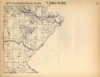 Florence, Aurora T39N-R19E, Florence County 1957